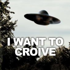 "playmat ""I WANT TO CROIVE""..."